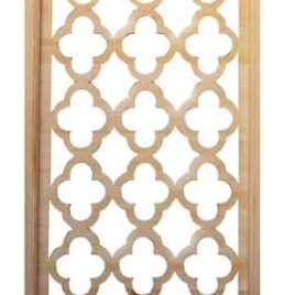 Geometric Pattern Lattice Screen