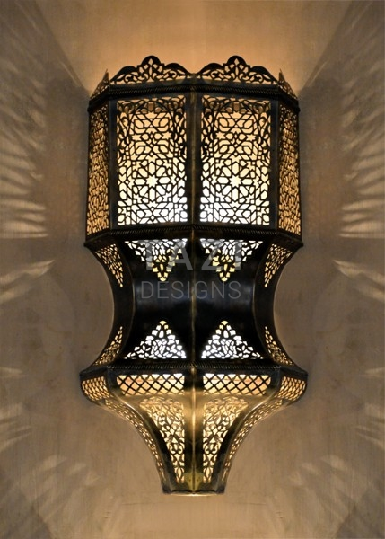 Moroccan Wall Sconce Lucy Tazi Designs