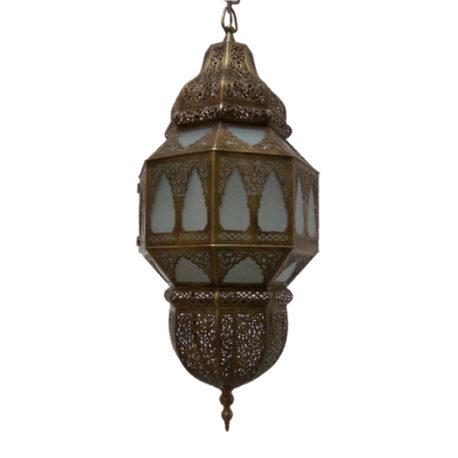 Brass Moroccan Lantern – Abudhi