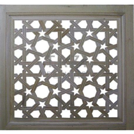 Carved Square Lattice Panel