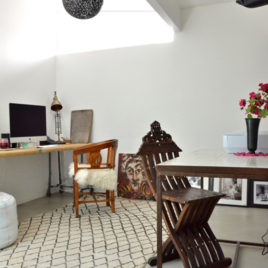 Moroccan Home Office in Marin