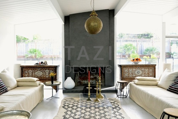 Mid-Century Eichler Home in San Rafael with Moroccan Aesthetic