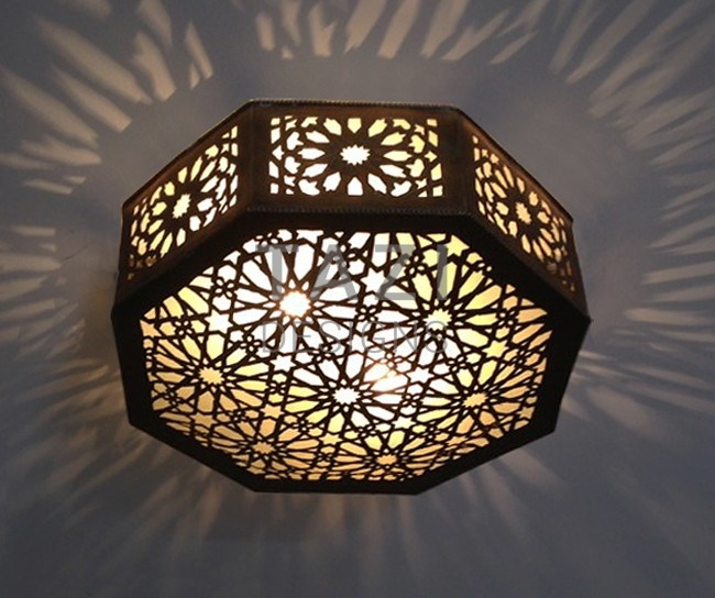 Moroccan Style Flush Ceiling Lights