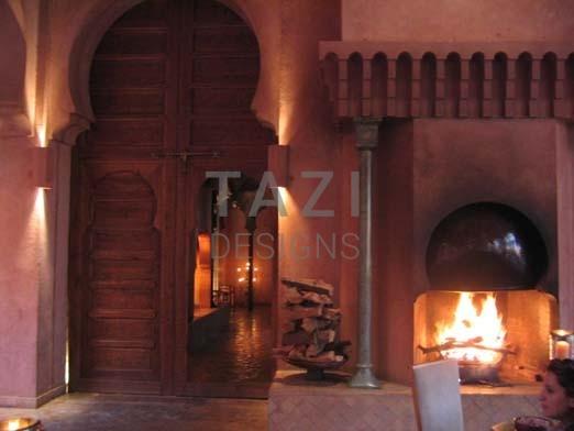 Custom Moroccan Doors