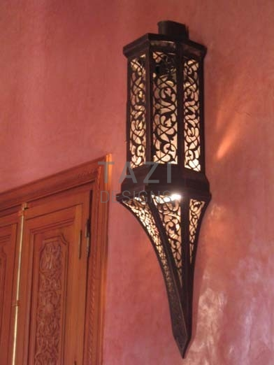 Moroccan Wall Sconce – Yousef
