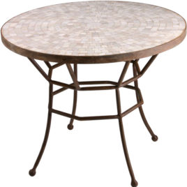 Cosmos Mosaic Side Table