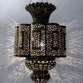 Moroccan Lamp – Sultan (BrL036)