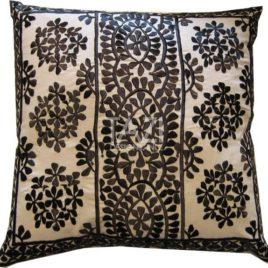 Moroccan Pillow – 26″ Black