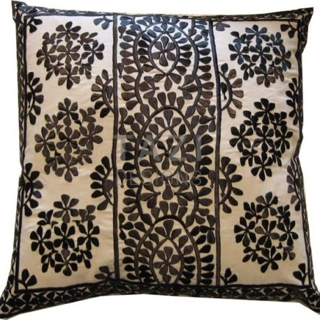 Moroccan Pillow – 26sqr Black