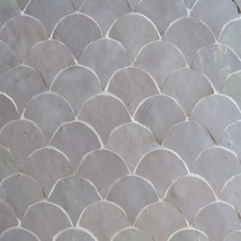 Moroccan Mosaic Back-Splash – Fish Scale