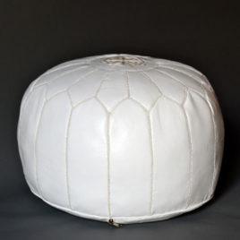 Rou – White Pouf