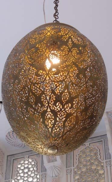 A Royal Modern Moroccan Pendant