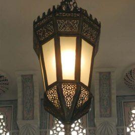 Jasmin High End Moroccan Pendant