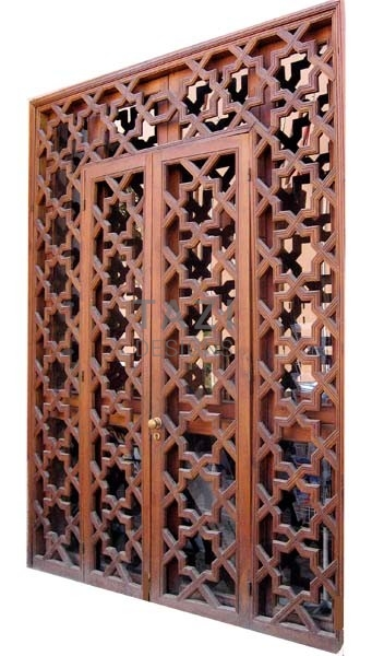Moroccan Door Screen
