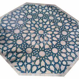 Moroccan Mosaic Table – 36″ octagonal
