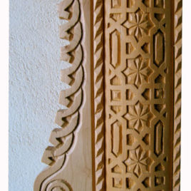 Carved Door Surround Trim