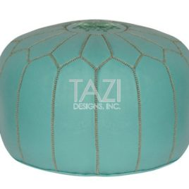 Pouf – Light Green & Olive