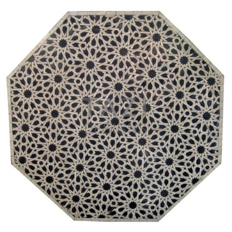 48″ Moroccan Mosaic Table – Moorish Tile Design