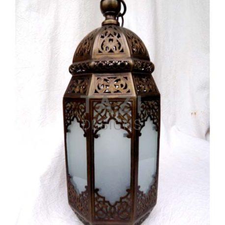 Moorish Brass Pendant – Maryam