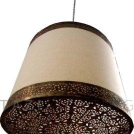Drum- Moorish Light Fixture
