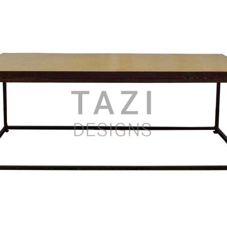 Moroccan Mosaic Coffee table with iron base