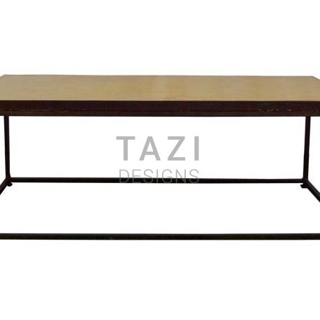 Moroccan Mosaic Coffee Table With Iron Base Tazi Designs - Moroccan outdoor coffee table