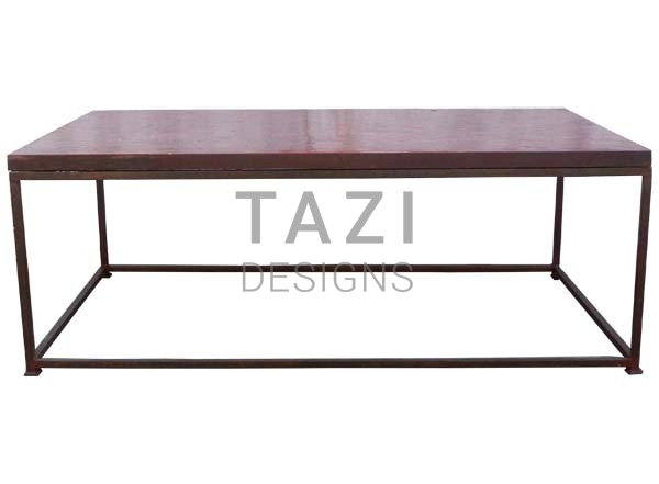 Moroccan Mosaic Coffee Table Red Tile With Base Tazi Designs - Moroccan outdoor coffee table