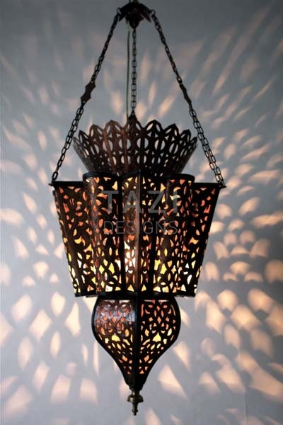 Moorish Copper Fixture – My Berber Lady