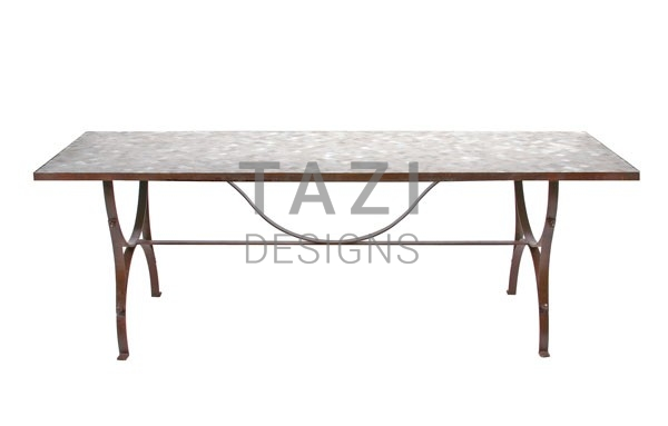Merveilleux 90u2033x32u2033 Rectangular Mosaic Table U2013 Provence Style