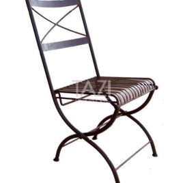 Iron Folding Chair – Bistro Chair