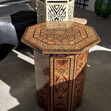 side table, moroccan table, occasional table, Egyptian table, accent table
