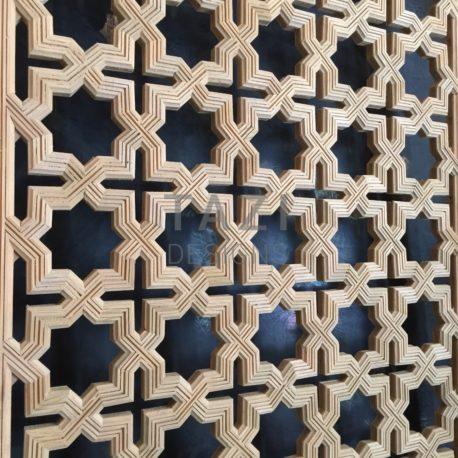 Moroccan Wood Screen