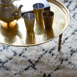 Tazi Moroccan Tea Tray