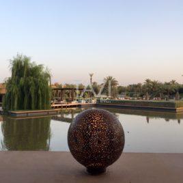 Outdoor Contemporary Moroccan Decor
