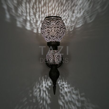 Moroccan Wall Light by Tazi Designs