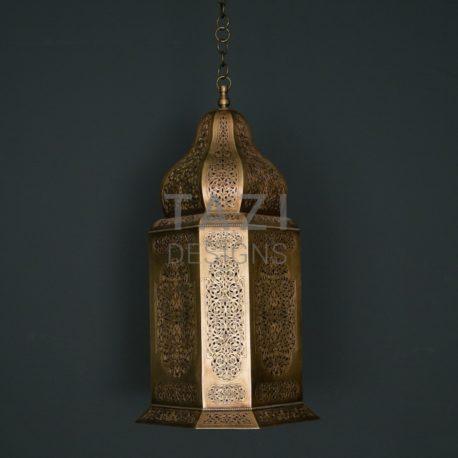 Vintage Moroccan Lantern by Tazi Designs
