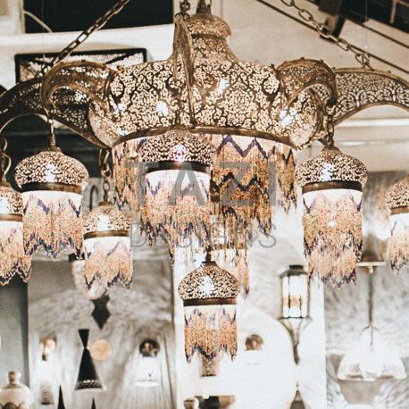 Moroccan Chandelier by Tazi Designs